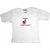 Lil Cub Hub 2WSSTR-1218 White Short Sleeve T-Shirt - Raccoon 12-18 months