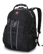 SwissGear 17532215 Polyester Scansmart Backpack - Black 43cm .