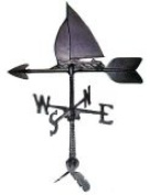 Montague Metal Products WV-171 100 Series 60cm . Sailboat Weathervane