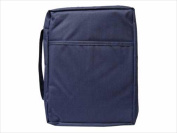 Swanson Christian Supply 53351 Bi Cover Economical Bible Case Large Navy