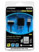 XTREME 88924 Cable5 ft. 1000mAh Sync - Charger with Home Charger