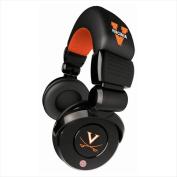 Zeikos Virginia Cavaliers Ihip Pro Dj Headphones & Microphone