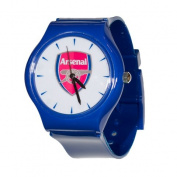 Arsenal AR38-B Soccer Club Slimline Souvenir Watch Blue