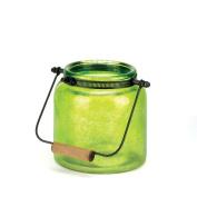 Eastwind Gifts 10016683 Green Jar Candle Lantern