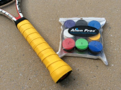 Alien Pros Comfortable Tacky-feel Sweat-absorptive Durable 9 Colours Overgrips Pack of 9 Pieces