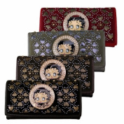 AMERICAN favourites KFW-904 BL BETTY WALLET - BLACK