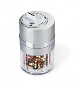 Zevro Dial-a-Spice Multiple Spice Container, Silver