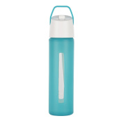 Takeya Modern Flip Straw with Carry Handle, 530ml, Teal