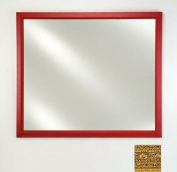 Afina Corporation FM1622REGGD 41cm .x 60cm .Signature Plain Mirror - Regal Gold