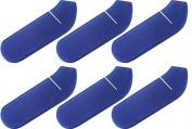 Olympia Sports HO128P Foam Hockey Stick Blade Cover - Blue - set of 6