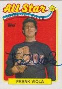 Frank Viola Autographed Minnesota Twins All Star Card