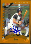 Autograph Warehouse 46509 Chris Duffy Autographed Baseball Card Pittsburgh Pirates 2002 Topps No .T230