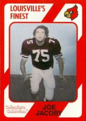 Autograph Warehouse 101823 Joe Jacoby Football Card Louisville 1989 Collegiate Collection No. 142