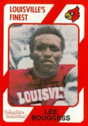 Autograph Warehouse 101827 Lee Bouggess Football Card Louisville 1989 Collegiate Collection No. 171