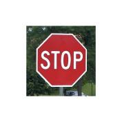 24 x 24 Reflective Aluminium Stop Sign