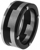 Doma Jewellery MAS03134-10 Stainless Steel Ring - Size 10