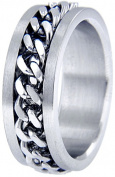 Doma Jewellery MAS03042-8 Stainless Steel Ring - Size 8