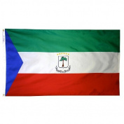 Annin Flagmakers 192469 0.6m X 0.9m Nyl-Glo Equatorial Guinea Government Flag