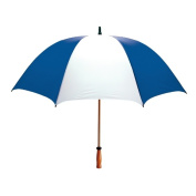 Peerless 2419WGF-Royal-White The Mulligan Umbrella Royal And White