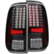 ANZO 311127 Ford F-250-350-450-550 Superduty 08-15 LED Tail Lights Black