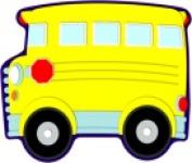 Carson Dellosa School Bus Design Single Cutout Pack - 36
