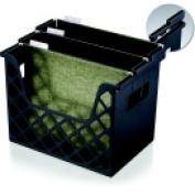 Officemate 3.25 x 22cm x 27cm . Oic Plastic Recycled Desktop File Organiser Black
