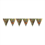 Creative Converting 295676 Hunting Camo - Flag Banner - Case of 6