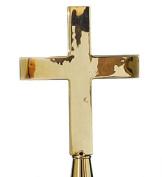 Annin Flagmakers 601006 56 Brass Plain Church Cross