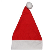 NorthLight 43cm . Adult Nw Promo Santa Hat With Extended Cuff Small