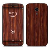 DecalGirl MMG2-DKROSEWOOD Motorola Moto G Second Gen Skin - Dark Rosewood