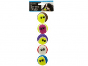 Bulk Buys OD934-16 Medium Size Dog Tennis Balls Set