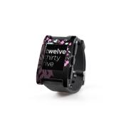DecalGirl PWCH-DKFLOWERS Pebble Watch Skin - Dark Flowers