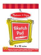 Melissa & amp; Doug LCI4194 9 x 12 Art Essentials Sketch Pad