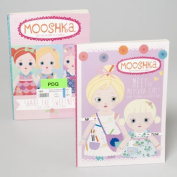 RGP 148825 Colouring Activity Book Mooshka Book 80 Pages 2 Assorted Titles Pack Of 24