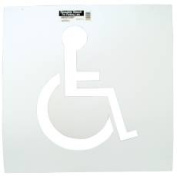 Hy-Ko Products 801105 Handicap Parking Stencil -Pack of 2