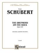 Alfred 00-K06936 SCHUBERT SHEPHERD ON THE ROCK