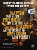 Alfred 00-35141 ESSENTIAL DRM LESSONS GREATS-BK & 2CD