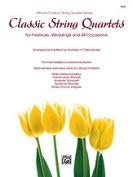 Alfred 00-35300 Classic Str Qrt Fest Wed-Strbs Book