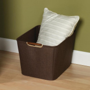 Household Essentials 601 Medium Bin-Coffee Linen