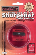 General Pencil 130341 Generals All-Art Steel Blade Sharpener