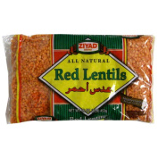 Ziyad Red Lentils & amp;#44; 470ml & amp;#44; - Pack of 6