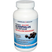 American Health Acidophilus And Bifidus Chewable Blueberry - 100 Wafers