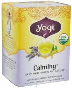 Yogi 27038 Organic Calming Tea - 16 Bag