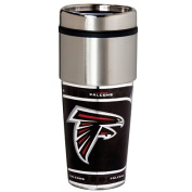 Great American Products 46520 Atlanta Falcons 470ml Stainless Steel Travel Tumbler Metallic Graphics