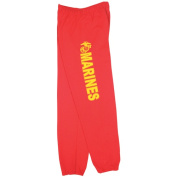 Fox Outdoor 64-765 S Mens United State Marines One Sided imprint Sweatpant Red - Small