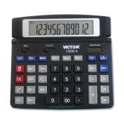 Victor Technologies 12004 1200-4 Business Desktop Calculator 12-Digit LCD