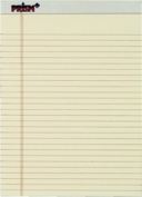 TOPS 63130 Prism and Legal Pad legal rule ivory perforated rigid back 50 SH per PD 12 PD per PK