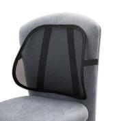 Safco Products 7153BL Mesh Backrest 17-1/2w x 3-1/8d x 15h Black