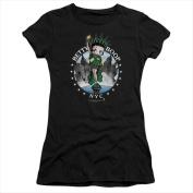 Boop-Nyc - Short Sleeve Junior Sheer Tee Athletic Heather - Medium