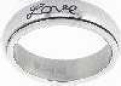 Solid Rock Jewellery 124524 Ring Faith Hope Love Spin Style 321 Sz 4
